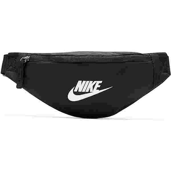 Nike Heritage Bauchtasche black-black-white