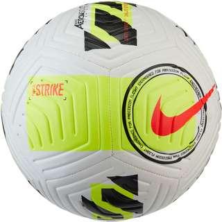 Nike Strike Fußball white-volt-bright crimson