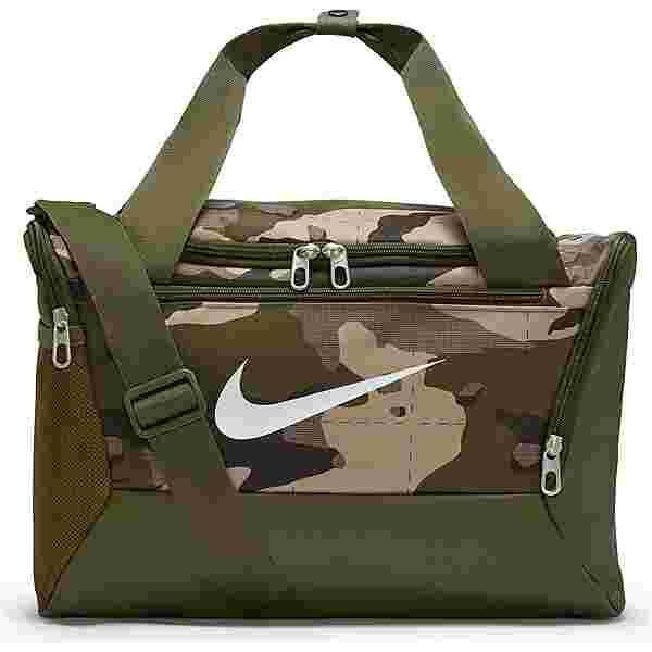 Nike Brasilia Duff XS Sporttasche khaki-rough green-white
