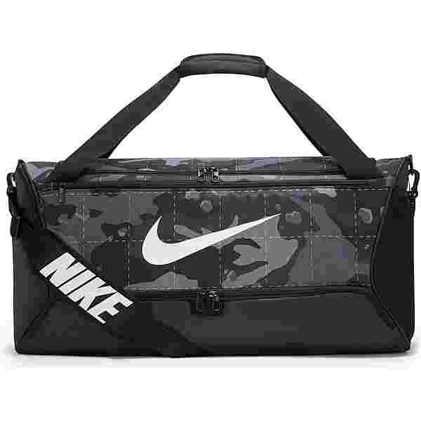 Nike Brasilia Duff M Sporttasche smoke grey-black-white