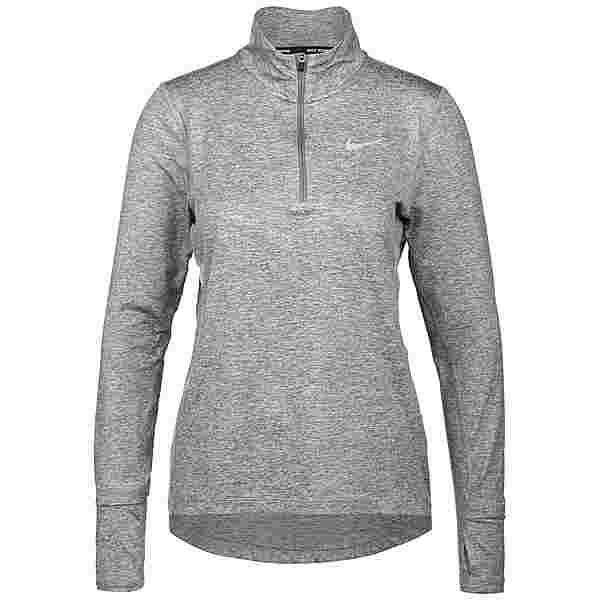 Nike Element Funktionsshirt Damen smoke grey-lt smoke grey-reflective silv