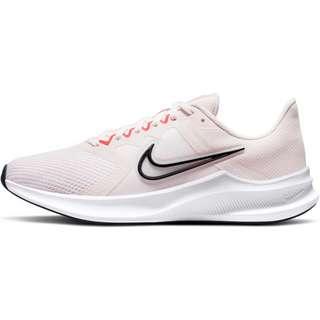 Nike Downshifter 11 Laufschuhe Damen light soft pink-black-magic ember-white