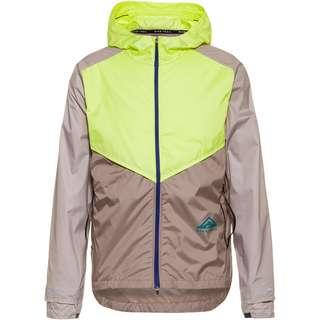 Nike Trail Laufjacke Herren lt lemon twist-moon fossil-bright spruce