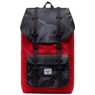 Herschel Rucksack Little Amerika Daypack Herren rot / grau