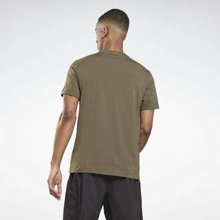 Reebok Graphic Series Reebok Stacked T-Shirt Funktionsshirt Herren Grün
