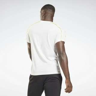 Reebok Training Essentials Piping T-Shirt T-Shirt Herren Weiß