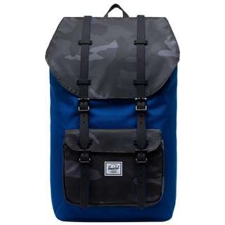Herschel Rucksack Little Amerika Daypack Herren schwarz / blau