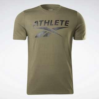 Reebok Athlete Vector Graphic T-Shirt Funktionsshirt Herren Grün