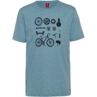 moorhead T-Shirt Herren smoke blue