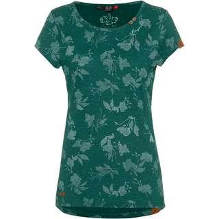 Ragwear Mint Rose T-Shirt Damen dark green