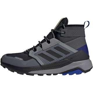 adidas GTX TRAILMAKER MID Wanderschuhe Herren grey six-core black-halo blue