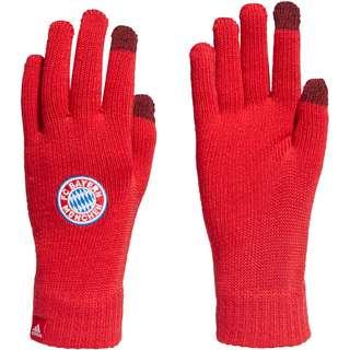 adidas FC Bayern Fleece Handschuhe fcb true red