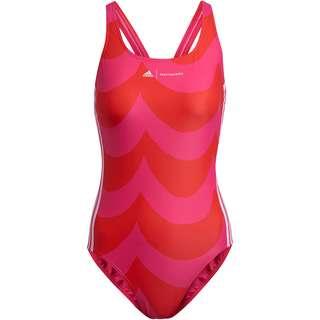 adidas SH3 RO Marimekko Schwimmanzug Damen team real magenta-vivid red