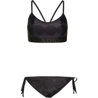 adidas MINI ME RAE Bikini Set Damen carbon-black