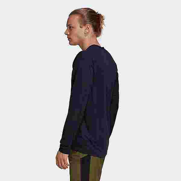 adidas TERREX Primeblue Trail Longsleeve Funktionsshirt Herren Blau