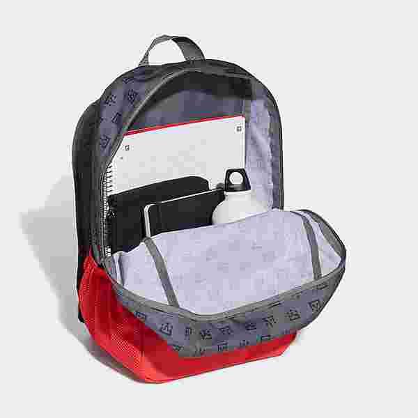 adidas Rucksack Mo Salah Rucksack Daypack Kinder Vivid Red / Grey One / Grey Three