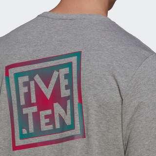 adidas Five Ten Heritage Logo T-Shirt T-Shirt Herren Grau