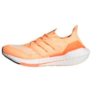 adidas Ultraboost 21 Laufschuh Laufschuhe Damen Acid Orange / Cloud White / Cream White