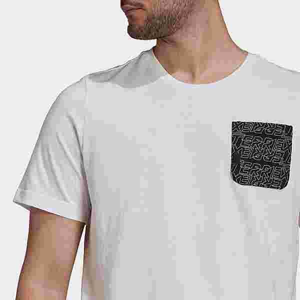 adidas TERREX Pocket Graphic T-Shirt Funktionsshirt Herren White / Black