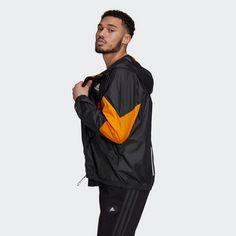 adidas Back to Sport WIND.RDY Jacke Funktionsjacke Herren Black / Eqt Orange