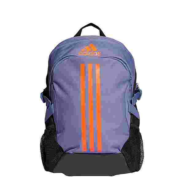 adidas Rucksack Power 5 Rucksack Daypack Herren Orbit Violet / App Solar Red