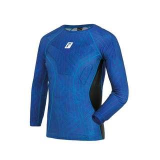 Reusch Compression Shirt Padded Funktionsshirt 4010 deep blue / deep blue