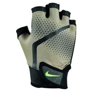 Nike Extreme Fitnesshandschuhe Herren khaki-black-lemon twist