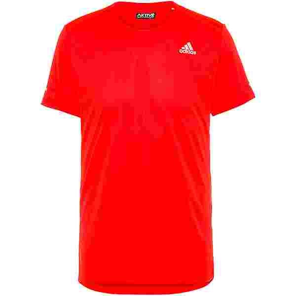 adidas run it Funktionsshirt Herren app solar red