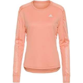 adidas OWN THE RUN RESPONSE AEROREADY Funktionsshirt Damen ambient blush