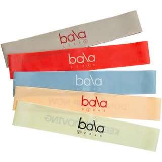 Bala Gymnastikband black-blau-rosa-grau-beige