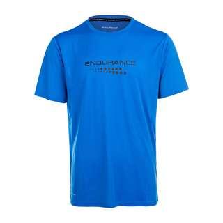 Endurance CARBONT M S/S Tee Printshirt Herren 2146 Directoire Blue