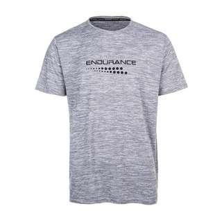 Endurance CARBONT M S/S Tee Printshirt Herren 1038 Mid Grey Melange