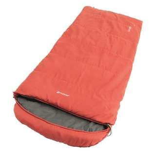 Outwell Campion Lux Red Kunstfaserschlafsack rot