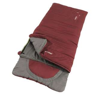 Outwell Contour Junior Red Kunstfaserschlafsack red