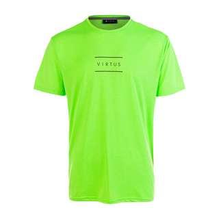 Virtus HODDIE M S-S Tee Printshirt Herren 3002 Green Gecko