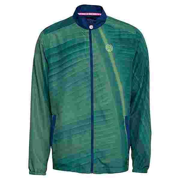 BIDI BADU Teku Tech Jacket Funktionsjacke Herren dunkelgrün/dunkelblau