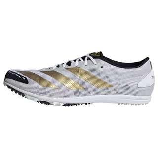 adidas Adizero XCS TME Spike-Schuh Laufschuhe Herren Cloud White / Gold Metallic / Core Black