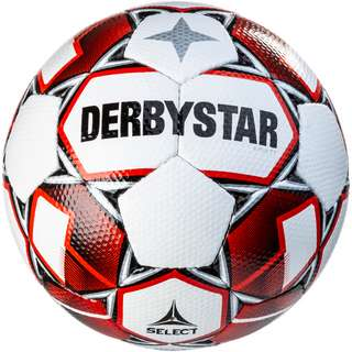 Derbystar Fußball Apus TT Fußball weiss rot