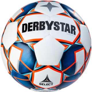 Derbystar Fußball Stratos TT Fußball weiss blau orange