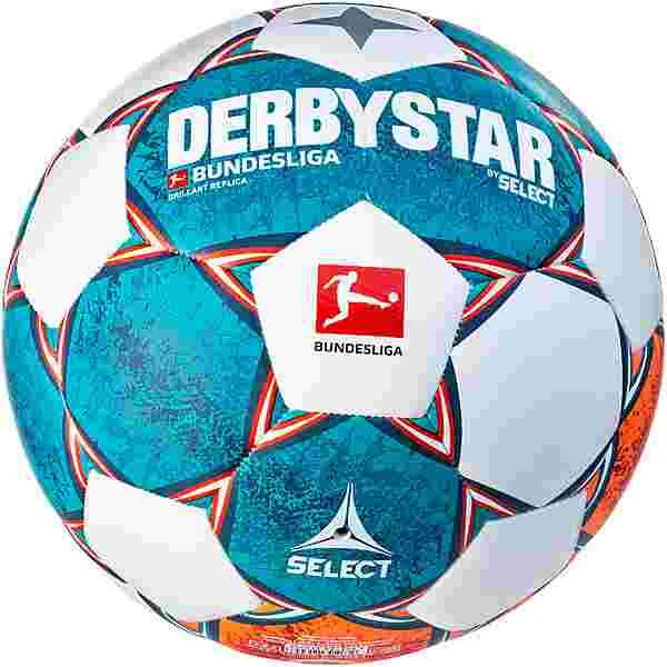 Derbystar Fußball BL Brillant Replica v21 Fußball weiß