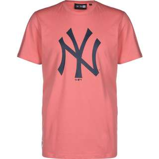 New Era NY Yankees Seasonal Logo T-Shirt Herren pink