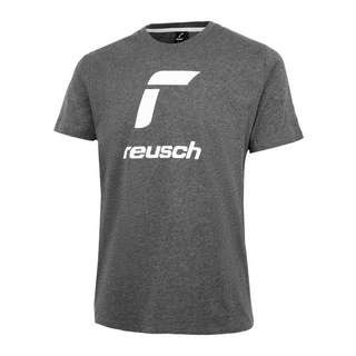 Reusch Shirt Essentials T-Shirt 6634 dark grey / white
