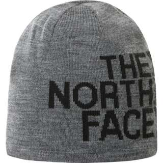The North Face REVERSIBLE BANNER Beanie tnf medium grey heather-tnf black