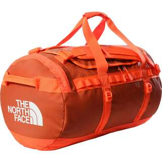 The North Face BASE CAMP DUFFEL M Reisetasche burnt ochre-power orange
