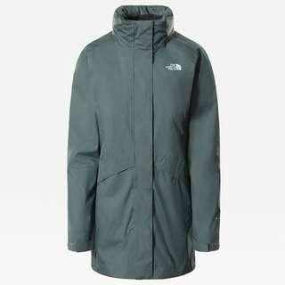 The North Face ARASHI II TRICLIMATE Doppeljacke Damen balsam green-asphalt grey