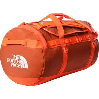 The North Face BASE CAMP DUFFEL L Reisetasche burnt ochre-power orange