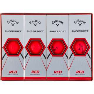 Callaway SUPERSOFT Golfball red