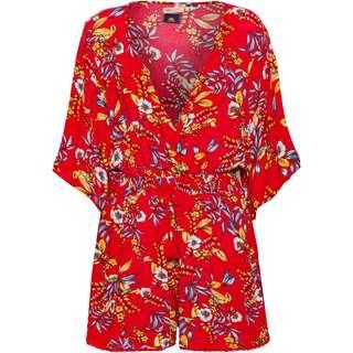 Superdry Jumpsuit Damen red hawaiian
