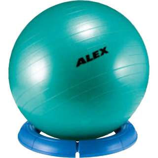 ALEX Standfuß für Gymnastikball rot