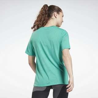 Reebok Burnout T-Shirt Funktionsshirt Damen Türkis